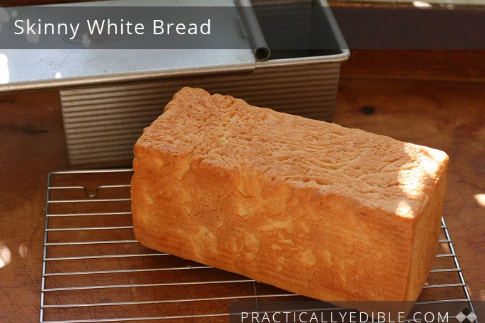 Skinny Homemade Bread