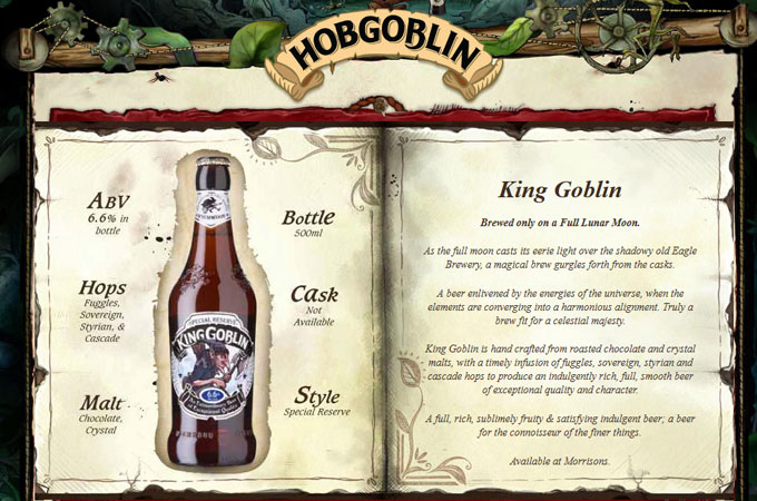 King Goblin Beer Fact Sheet