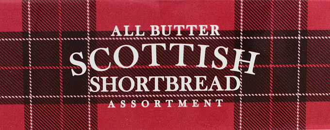 Marks & Spencer Scottish Shortbread side of tin