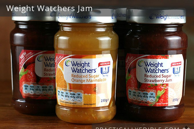 Weight Watchers Jams