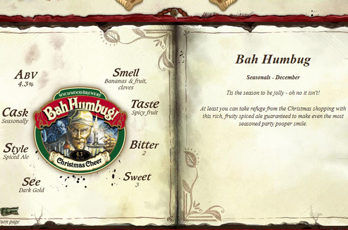 Bah Humbug Beer Fact Sheet