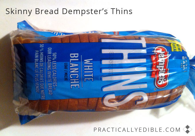 Skinny Store-bought bread