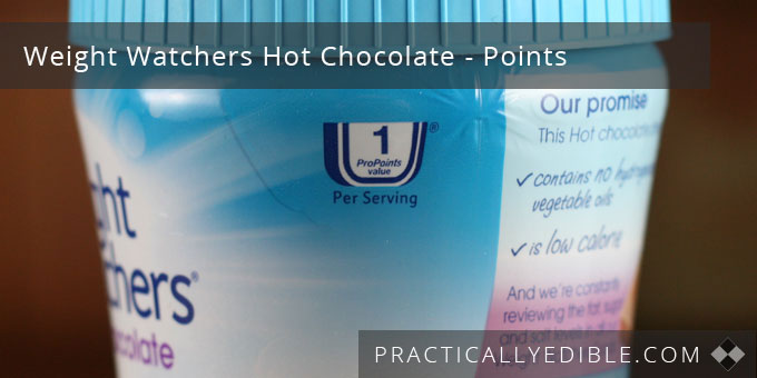 Weight Watchers Hot Chocolate Points