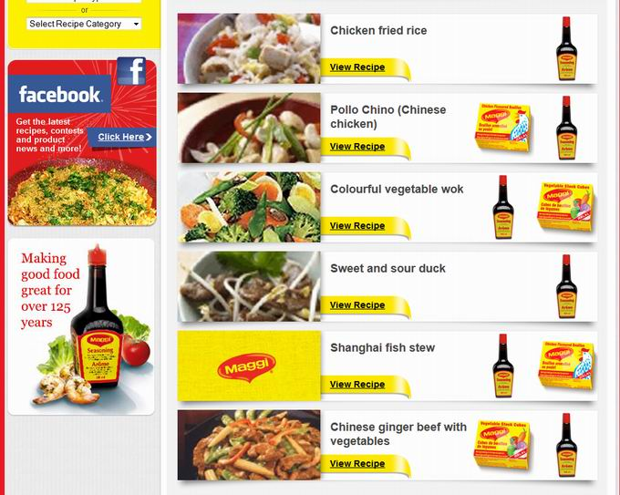 Maggi Chinese Food Recipes