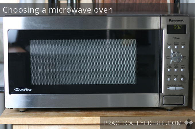 Hunting for a new microwave