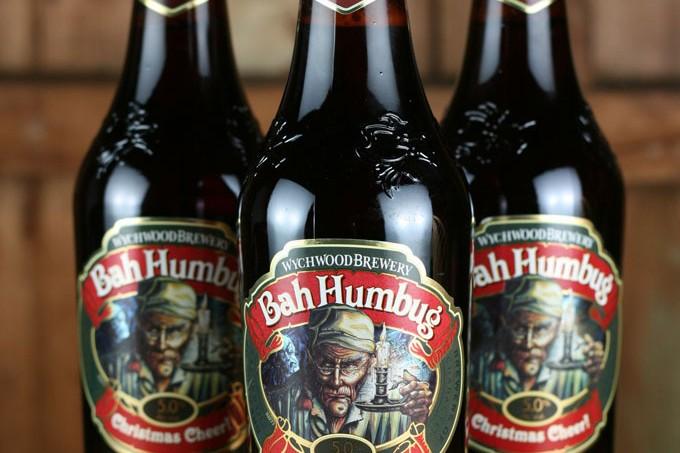 Bah Humbug Christmas Beer