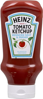 Heinz Reduced Sugar Reduced Salt Ketchup