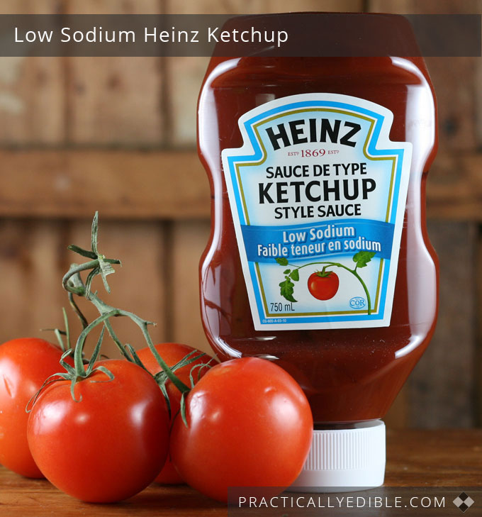 Low-sodium ketchup