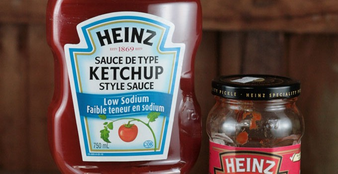Heinz Ketchup vs Heinz Tangy Tomato Pickle