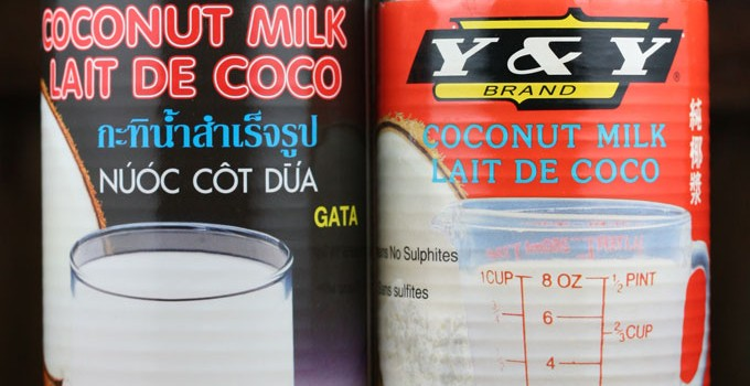 The skinny on coconut milk