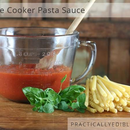 pressure cooker tomato / pasta / spaghetti sauce